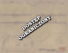 Guciów, powiat Zamość. Plany obiektów w wykopach 1 i 2 oraz szkic stanowiska 9 z zaznaczonymi wykopami