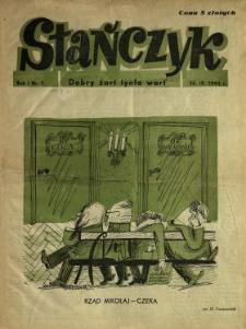 Stańczyk : dobry żart tynfa wart 1944 N.1-4