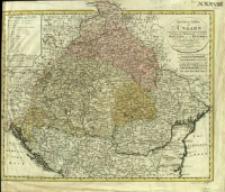 General Charte von Ungarn : mit seinen Nebenländern Croatien, Dalmatien, Slavonien und Siebenbürgen, ingleichen Gallizien und der Bukowina nebst den angrenzenden Provinzen des Osmannischen Reichs & cc.