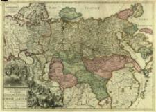 Carte Nouvelle De Tout L'Empire De La Grande Russie Dans L'Estat Ou Il S'Est Trouvé À La Mort De Pierre Le Grand