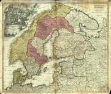 Scandinavia complectens Sueciæ, Daniæ & Norvegiæ Regna ex Tabulis