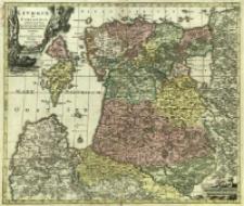 Livoniæ et Curlandiæ Ducatus cum Insulis Adjacentib. Mappa Geographica