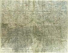 Übersichtskarte des österr.-ungar.-russischen Kriegsschauplatzes : 1:750 000