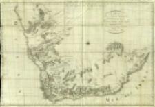 Carte de la Partie Méridionale de l'Afrique : pour servir d'intelligence aux deux Voyages de Levaillant
