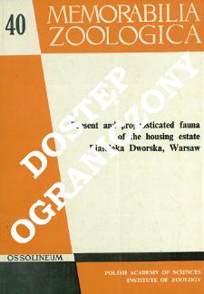 Present and prognosticated fauna of the housing estate Białołęka Dworska, Warsaw