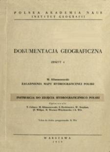 Zagadnienia mapy hydrograficznej Polski