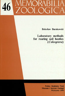 Laboratory methods for rearing soil beetles (Coleoptera)