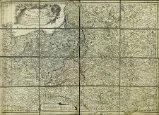 Neueste Karte von Polen und Litauen : samt den oesterreichischen, russischen und preussischen Antheile und den übrigen angraenzenden Laendern A[nn]o 1795