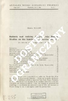 Studies on the family Hysterocinetidae Diesing