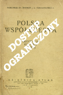 Polska współczesna : [geografja, kultura, ustrój]