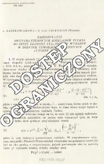 Zastosowanie dwuparametrowych rozkładów Fucksa do opisu długości sylabicznych wyrazów w różnych utworach prozaicznych autorów polskich