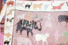 Fragment tkaniny (Dokument ikonograficzny)