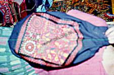 Fragment stroju kobiecego, Radżastan (Dokument ikonograficzny)