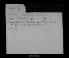 Niesłuchy. Kartoteka powiatu ciechanowskiego w średniowieczu. Kartoteka Słownika historyczno-geograficznego Mazowsza w średniowieczu
