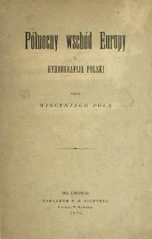 Północny wschód Europy i hydrografija Polski
