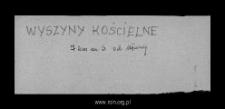 Wyszyny Kościelne. Kartoteka powiatu mławskiego w średniowieczu. Kartoteka Słownika historyczno-geograficznego Mazowsza w średniowieczu