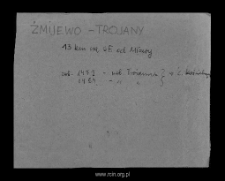 Żmijewo-Trojany. Kartoteka powiatu mławskiego w średniowieczu. Kartoteka Słownika historyczno-geograficznego Mazowsza w średniowieczu