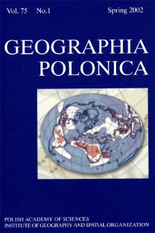 Geographia Polonica Vol. 75 No. 1 (2002)