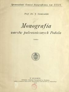 Sprawozdanie Komisji Fizjograficznej T. 39 (1904) tablice