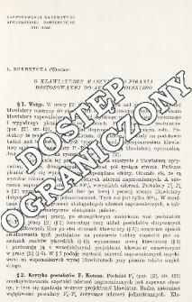O klawiaturze maszyny do pisania dostosowanej do języka polskiego