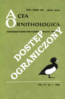 Comparative bird demogrphy : Methods, data and preliminary results
