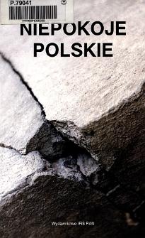 Niepokoje polskie. Spis treści