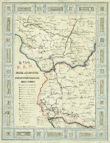 Mapa górnictwa w Królestwie Polskim : Okręg Zachodni