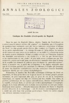 Catalogue des Zonitidés (Gastropoda) du Maghreb