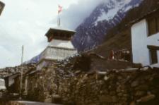 Hindu Temple Kedarnath, Himalaya (Iconographic document)