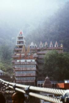 Most na Gangesie w LakshmanJhula/Riszikesz(Dokument ikonograficzny)