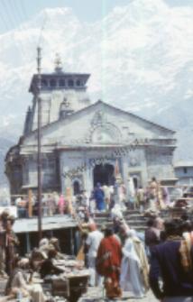 Świątynia w Kedarnath (Dokument ikonograficzny)