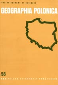 Geographia Polonica 58 (1990)