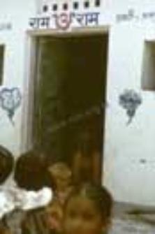 Alley in Uttarkashi (Iconographic document)