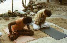Yoga lesson (Iconographic document)