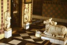 The interior of shivaite temple(Iconographic document)
