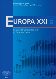 What indicators to use when measuring Services of General Interest?