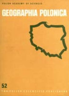 Geographia Polonica 52 (1986)