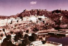 A fragment of a castle in Jodhpur (Iconographic document)