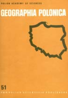 Geographia Polonica 51 (1985)