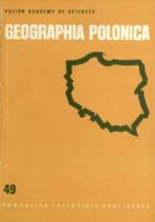 Geographia Polonica 49 (1984)
