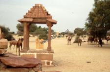 Village shrine, Rajasthan (Iconographic document)