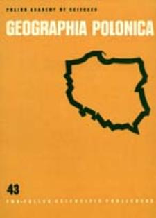 Geographia Polonica 43 (1980)