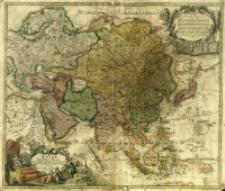 Asiae Recentißima Delineatio, Qua Status Et Imperia Totius Orientis unacum Orientalibus Indiis exhibentur