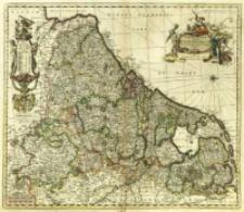 Novissima et accuratissima XVII Provinciarum Germaniae Inferioris Tabula