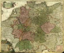 S. R. I. in Germania Descriptio præ cæteris alii Longe Accuratior, Comprehendens, Novem Circulorium Regni Bohemiæ, Belgii, Helvetiæ [...]