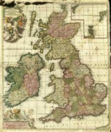 Novissima præ cæteris aliis accuratissima Regnorum Angliæ, Scotiæ Hiberniaæq[ue] Tabula