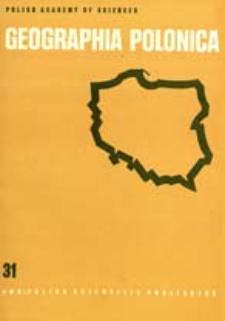 Geographia Polonica 31 (1975)