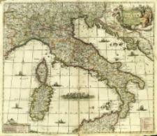 Novissima et Accuratissima totius Italiæ, Corsicæ et Sardiniæ