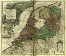 Belgii Pars Septentrionalis communi nomine Vulgo Hollandia nuncupata Continens Statum Potentissimæ Batavorum Reipublicæ Seu Provincias VII Foederatas.