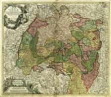 S.R.I. Circulus Sueviæ Continens Ducatum Wirtenbergensem Aliosq Status et Provincias Eidem Circulo Insertas